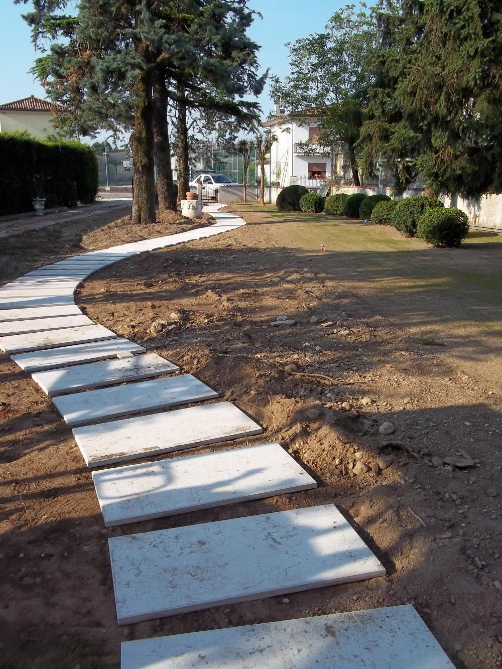 Vialetto pedonale