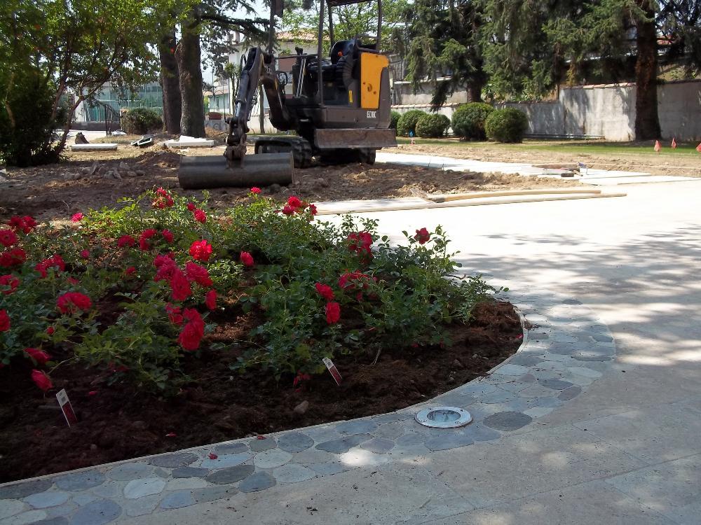 Progettazione e realizzazione giardini treviso venezia e - Giardino con rose ...