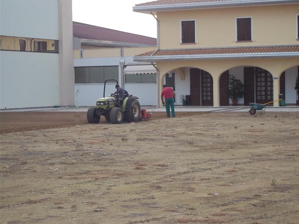 Fresatura e livellamenti del terreno